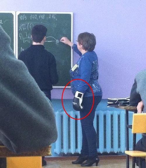 Giáo viên hay võ sĩ quyền anh?