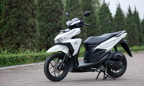 Honda Vario nhập khẩu Indonesia về Việt Nam với hai phiên bản 125 và 150 phân khối. Ảnh: Lương Dũng.