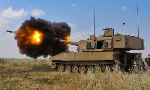 Phóa tự hành M109A6 của lục quân Mỹ. Ảnh: Wikipedia.