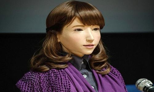 Robot Enrica có vẻ ngoài giống một cô gái 23 tuổi. Ảnh: Live Science.