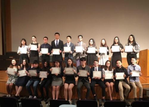 Học sinh sẽ nhận giải thưởng Outstanding Cambridge Learner trong buổi lễ trao giải được tổ chức vào ngày 29/1.