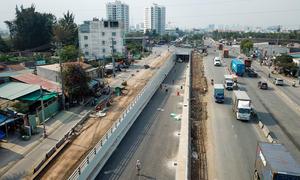 Kỳ vọng giao thông ở hầm chui đường vào cảng lớn nhất Việt Nam