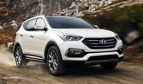 Hyundai Santa Fe thế hệ hiện hành. Ảnh: Hyundai.