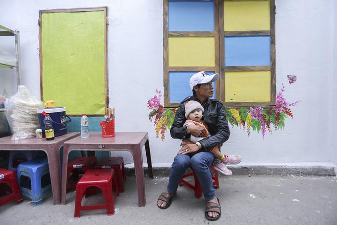 Làng bích họa giữa trung tâm Đà Nẵng