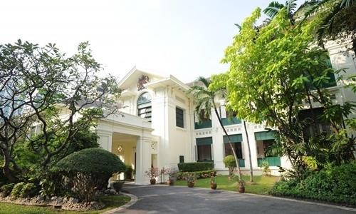 Tòa nhà đại sứ quán Anh ở Bangkok, Thái Lan. Ảnh: The Nation.
