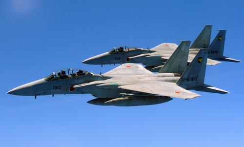 Tiêm kích F-15J có thể được trang bị nhiều tên lửa hành trình tầm xa. Ảnh: JASDF.