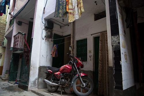 Căn nhà nơi bé gái 8 tháng tuổi bị tấn công tình dục. Ảnh:Cover Asia Press