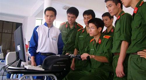 Trừ Học viện Quân y, các trường khác trong khối quân đội đều tuyển sinh khối A1.