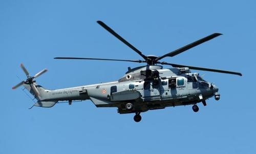 Một trực thăng quân sự của Pháp. Ảnh: AFP.