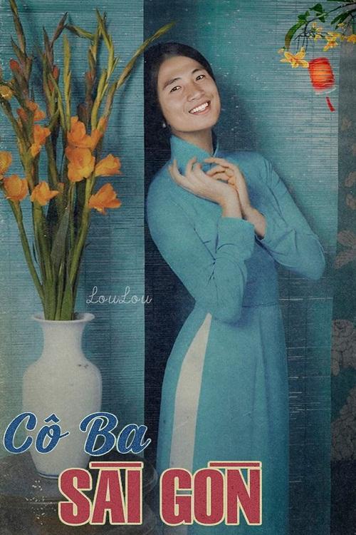 Cô tư Tiến Dũng cónụ cười dịu dàng, ấm áo như ánh mặt trời.