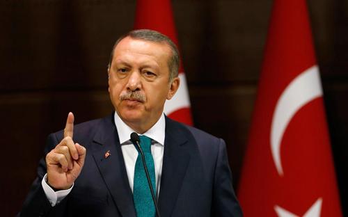 Tổng thống Thổ Nhĩ Kỳ Recep Tayyip Erdogan. Ảnh: Anadolu.