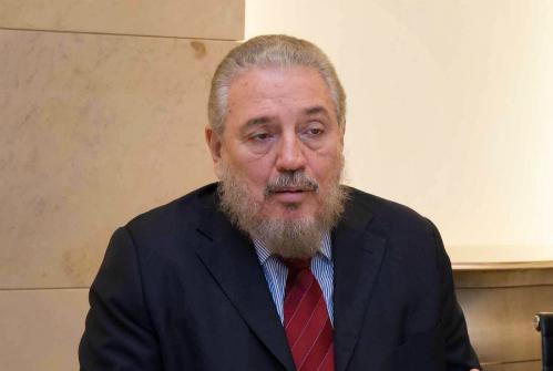 Fidel Castro Diaz-Balart trong một cuộc họp với phái đoàn Ba Lan năm 2016. Ảnh: PolandMFA.