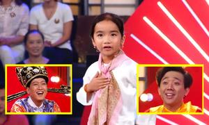 Cô bé 6 tuổi thắng 2 triệu đồng nhờ làm 'bà ngoại' Trấn Thành, Trường Giang