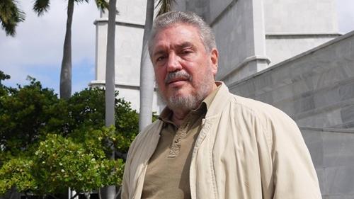 Fidel Castro Diaz-Balart, con trai cả của Fidel Castro. Ảnh: Science.