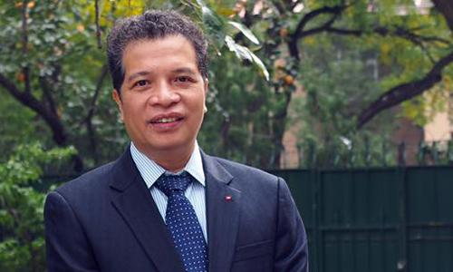 Đại sứ Việt Nam tại Trung Quốc Đặng Minh Khôi. Ảnh: Đại sứ quán Việt Nam tại Trung Quốc.