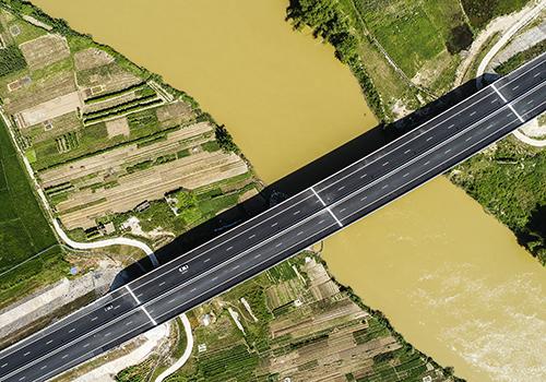 Một đoạn cao tốc Đà Nẵng - Quãng Ngãi đã đưa vào khai thác. Ảnh:Nguyễn Đông.