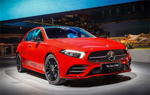 Mercedes A-class thế hệ mới – xe cỡ nhỏ cá tính hơn