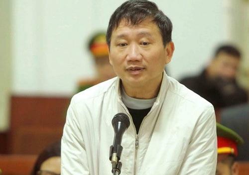 Bị cáo Trịnh Xuân Thanh.Ảnh: VietnamPlus