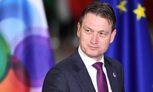 Ngoại trưởng Hà Lan Halbe Zijlstra. Ảnh: AFP.