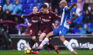Espanyol 1-1 Barcelona
