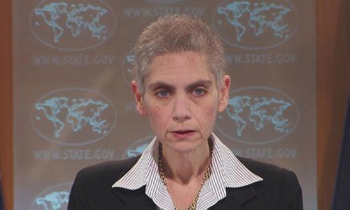 Bà Tina Kaidanov, Phó trợ lý Ngoại trưởng Mỹ. Ảnh: C-SPAN.