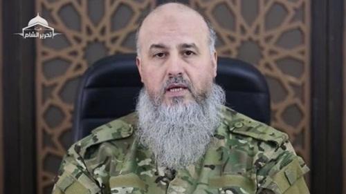 Abu Jabir, thủ lĩnh Tahrir al-Sham. Ảnh: BBC.