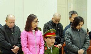 Thẩm phán đọc bản án với ông Trịnh Xuân Thanh