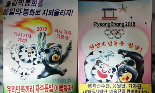 Hình ảnh được cho là truyền đơn của Triều Tiên. Ảnh: NK News.