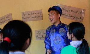 Học sinh Hà Nội tổ chức hội làng cho trẻ vùng quê