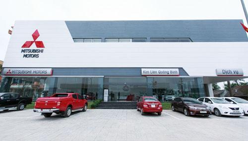 Đại lý Mitsubishi Kim Liên Quảng Bình khai trương ngày 3/2.