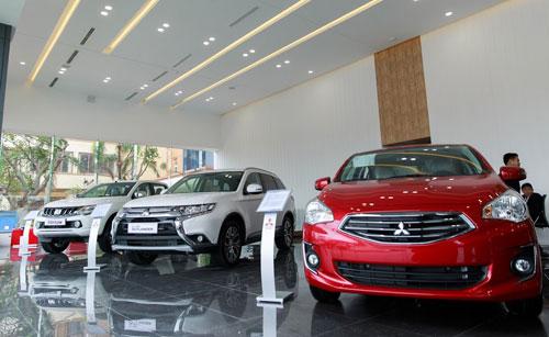 Đại lý đáp ứng tiêu chuẩn của Mitsubishi toàn cầu.