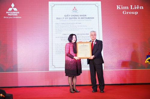 bà Nguyễn Thị Kim Liên, chủ tịch HĐQT Kim Liên Group