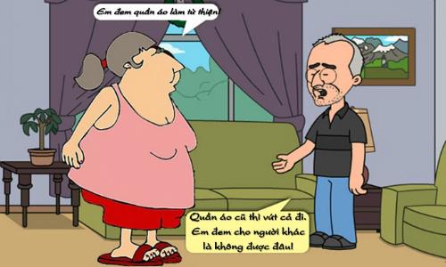Nguyên nhân vợ chẳng thể làm từ thiện