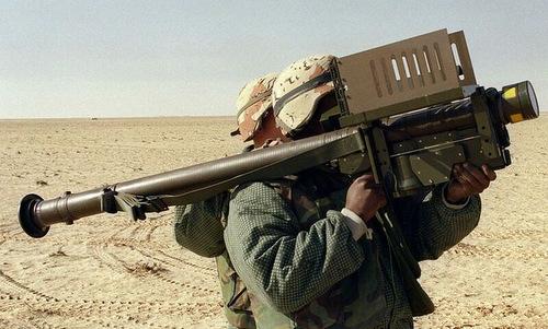 Tên lửa Stinger trong biên chế quân đội Mỹ. Ảnh: Pinterest.