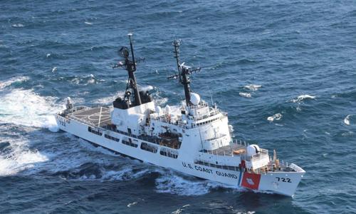 Tàu tuần dương USCGC Morgenthau mà Mỹ đã bàn giao cho Việt Nam tháng 12 năm ngoái. Ảnh: USCG.