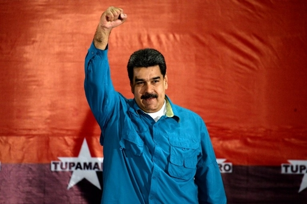 Tổng thống Venezuela Nicolas Maduro. Ảnh: AFP.