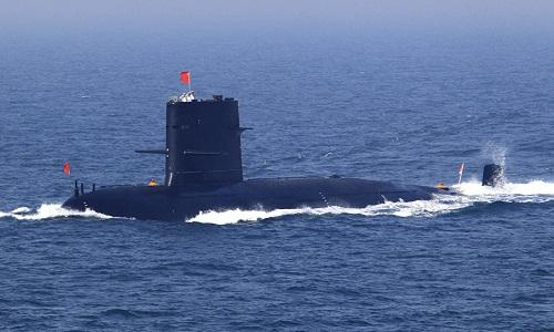 Trung Quốc đang nỗ lực trang bị hệ thống trí tuệ nhân tạo cho lực lượng tàu ngầm. Ảnh minh họa: Sputnik.