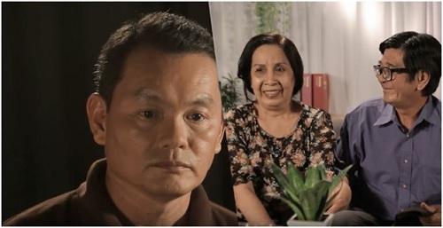 Chú Minh và cha mẹ.