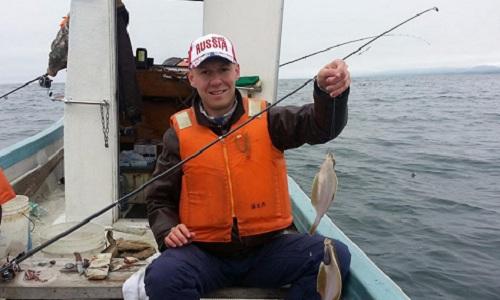 Roman Filippov rất yêu thích câu cá. Ảnh: RT.
