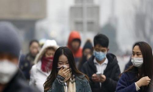 Ô nhiễm không khí đang trở thành vấn đề nghiêm trọng tại Trung Quốc. Ảnh: Decanchronicle.