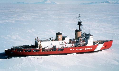 Tàu phá băng USCGC Polar Star. Ảnh: USCG.