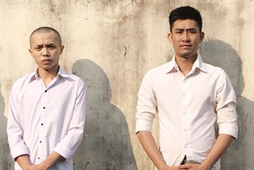 Hai trong số bốn người bị bắt thừa nhận hành vi phạm pháp của mình. Ảnh: Phú Quốc.