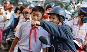 Sài Gòn hết kẹt xe vì HS-SV nghỉ chống bão: Cần xếp lệch giờ học, làm