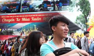 Miễn phí vé xe cho 3.000 sinh viên về quê đón Tết