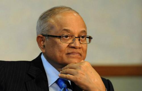 Maumoon Abdul Gayoom, anh cùng cha khác mẹ của Tổng thốngYameen. Ảnh: AFP.