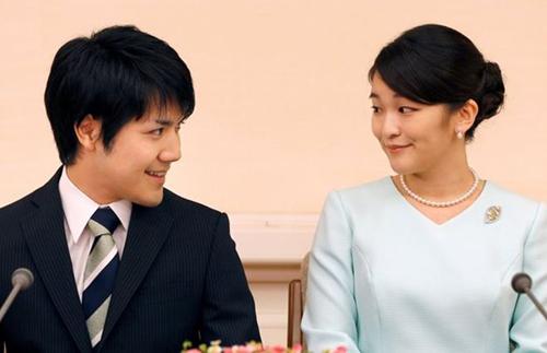 Công chúa Mako và hôn phuKei Komuro. Ảnh: Reuters