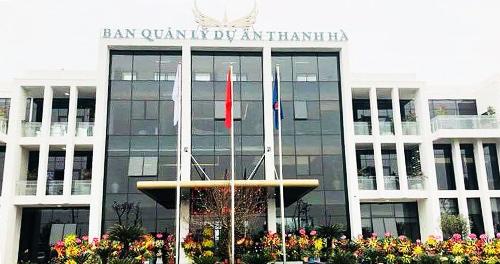 Caption Dự án khu đô thị Thanh Hà thay da, đổi thịt từng ngày sau hơn 1 năm được đại gia Lê Thanh Thản hồi sinh.