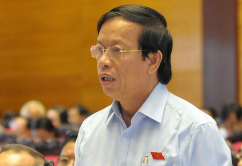 Ông Lê Phước Thanh bị cách chức nguyên Bí thư Quảng Nam vì vun vén gia đình. Ảnh: QH