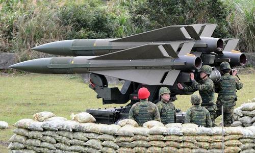 Bệ phóng MIM-23 trong biên chế Đài Loan. Ảnh: AFP.