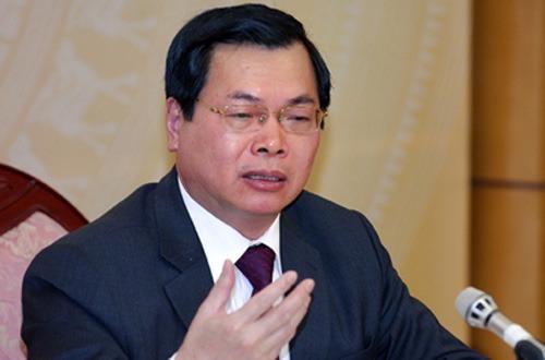 Ông Vũ Huy Hoàng đã bị xoá tư cách Bộ trưởng Công thương. Ảnh: CTV